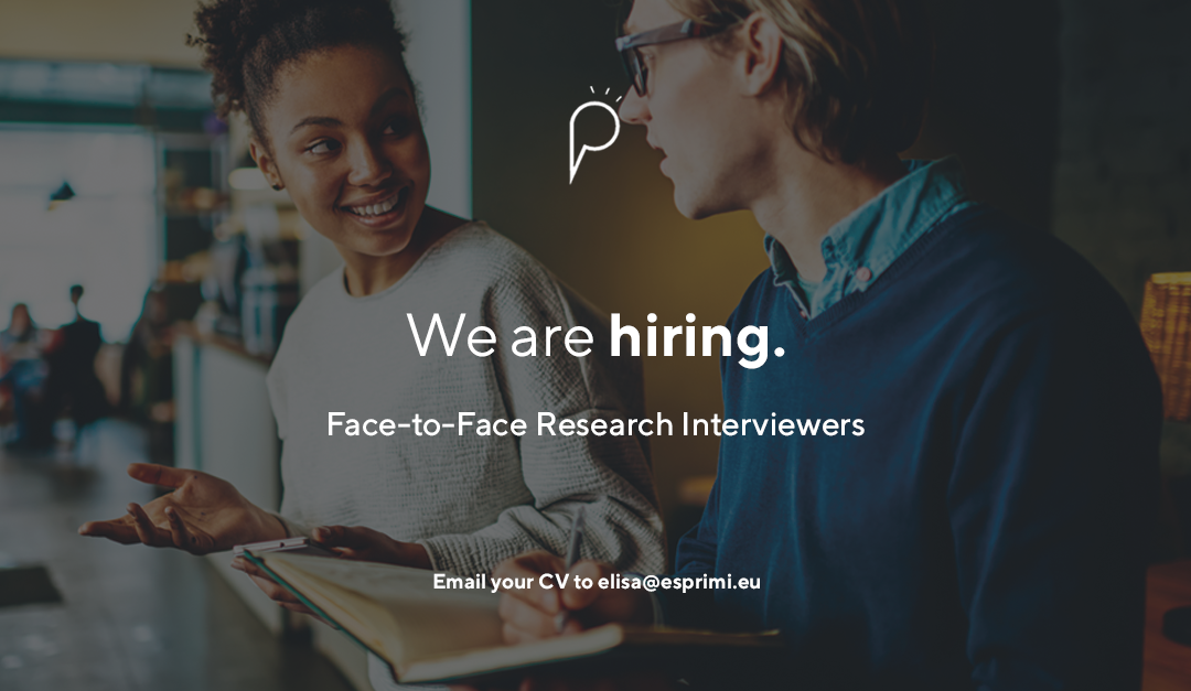 Now Hiring: Face-to-Face Research Interviewers (Malta and Gozo)