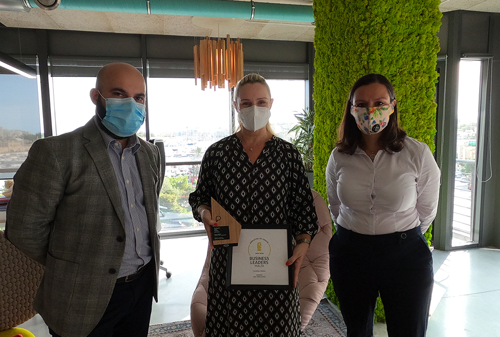 Catena Media crowned winners of the 2019-2020 Employee's Voice Awards